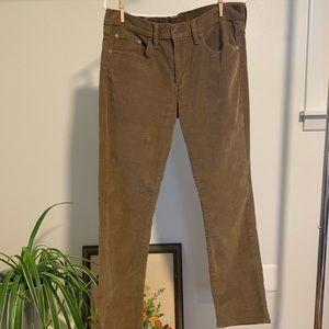 Golden Brown Corduroy 511 Men's Levi's Jeans